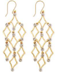 Alexis Bittar Crystalstudded Chandelier Earrings - Lyst