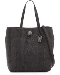 Rachel Zoe Eve Woven Leather Tote Bag - Lyst