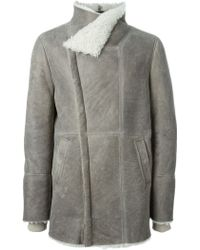 Iro Funnel Neck Coat - Lyst