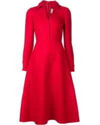 Valentino Aline Shirt Dress - Lyst