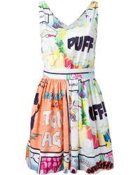 Moschino Cheap & Chic Cartoon-Print Dress - Lyst