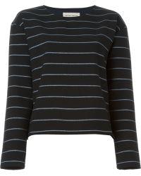 Libertine-Libertine - Striped Sweatshirt - Lyst