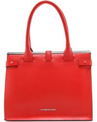Costume National Large Shopping Tote - Lyst