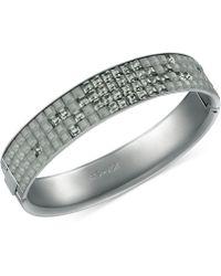Swarovski Viktor Rolf Crystals Bangle Bracelet - Lyst