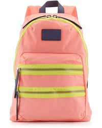 Marc By Marc Jacobs Domo Arigato Packrat Backpack Fluoro Coral - Lyst
