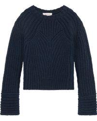 Paul & Joe Knitted Cropped Jumper - Lyst