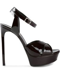 Saint Laurent Bianca 105 Sandals - Lyst