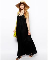 Asos Trapeze Maxi Beach Dress - Lyst