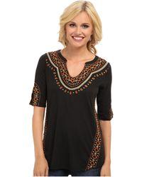Lucky Brand Dashiki Embroidered Tunic - Lyst