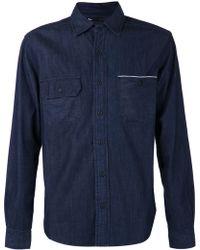 3x1 Blue Denim Shirt - Lyst