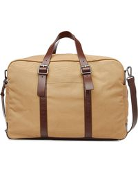 Marc By Marc Jacobs | Cotton Weekender With Leather - Brown | Lyst
