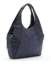 L.A.M.B. Midnight Blue Leather 'Gabe' Hobo Bag blue - Lyst