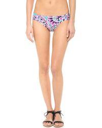 Shoshanna Pampelonne Paisley Bikini Bottoms - Lyst