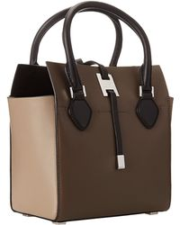 Michael Kors Collection Miranda Color Block Xs Tote - Lyst
