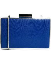 Coast - Renne Clutch Bag in Cobalt Blue - Lyst