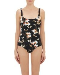 Givenchy - Flower & Butterfly-print Maillot - Lyst