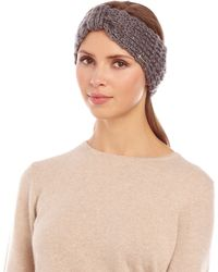 Steve Madden Lurex Knit Headband - Lyst
