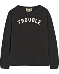 Sea Printed Cotton Terry Sweatshirt - Lyst