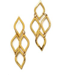 Gorjana Roya Drop Earrings Gold - Lyst
