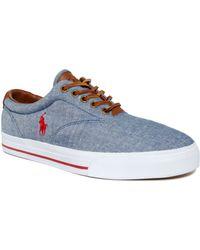 Polo Ralph Lauren Vaughn Lace Sneakers - Lyst