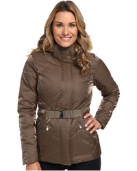 The North Face Brown Metrolina Jacket - Lyst