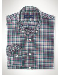 Polo Ralph Lauren Plaid Twill Sport Shirt - Lyst