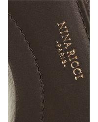 Nina Ricci - Twotone Leather Wallet - Lyst