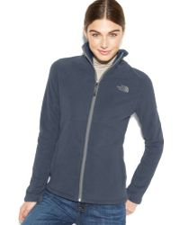 The North Face Zip-front Morningglory Fleece Jacket - Lyst