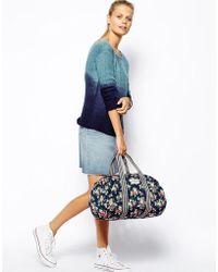 Cath Kidston - Foldaway Barrel Bag - Lyst