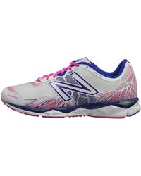 New Balance Purple Sneakers - Lyst