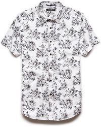 be61115e4b1 White Floral Shirt Mens - South Park T Shirts