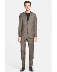 John Varvatos Trim Fit Wool Suit - Lyst