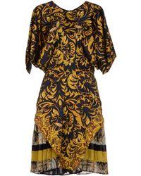 Just Cavalli Kneelength Dress - Lyst