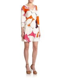 Diane von Furstenberg Kaden Silk Jersey Shift Dress - Lyst