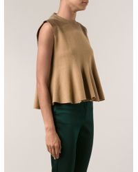 3.1 Phillip Lim Pleated Tank Top - Lyst