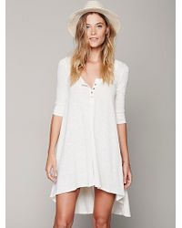 Free People Drippy Jersey Dress - Lyst