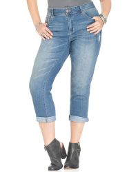 American Rag Medium Blue Wash - Lyst