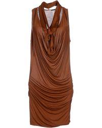 Plein Sud Jeanius Short Dress - Lyst