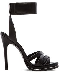 McQ by Alexander McQueen Mini Criss Cross Heel - Lyst