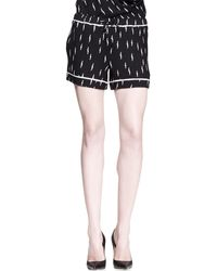 A.L.C. Marx Lightning Bolt Shorts - Lyst