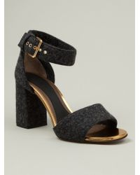 Marni Woolly Sandals - Lyst