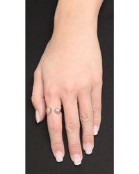 Tai - Open Stone Ring - Lyst
