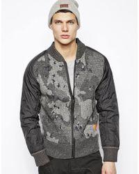 G-star Raw Zip Up Knit Jacket - Lyst