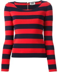 Sonia By Sonia Rykiel Striped Jumper - Lyst