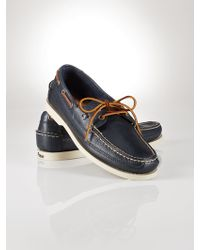 Polo Ralph Lauren Vachetta Barnard Boat Shoe - Lyst