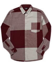 Cheap Monday Shirt In Check Flannel - Lyst