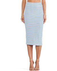 The Lady & The Sailor - Knit Pencil Skirt - Lyst