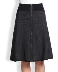 A.L.C. Billy Ribbed Knit A-line Skirt - Lyst