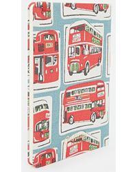 Cath Kidston - London Bus A5 Fabric Covered Notebook - Lyst