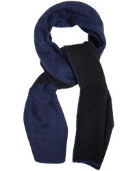Alexander Wang - Bi-colour Tuck-stitch Scarf - Lyst
